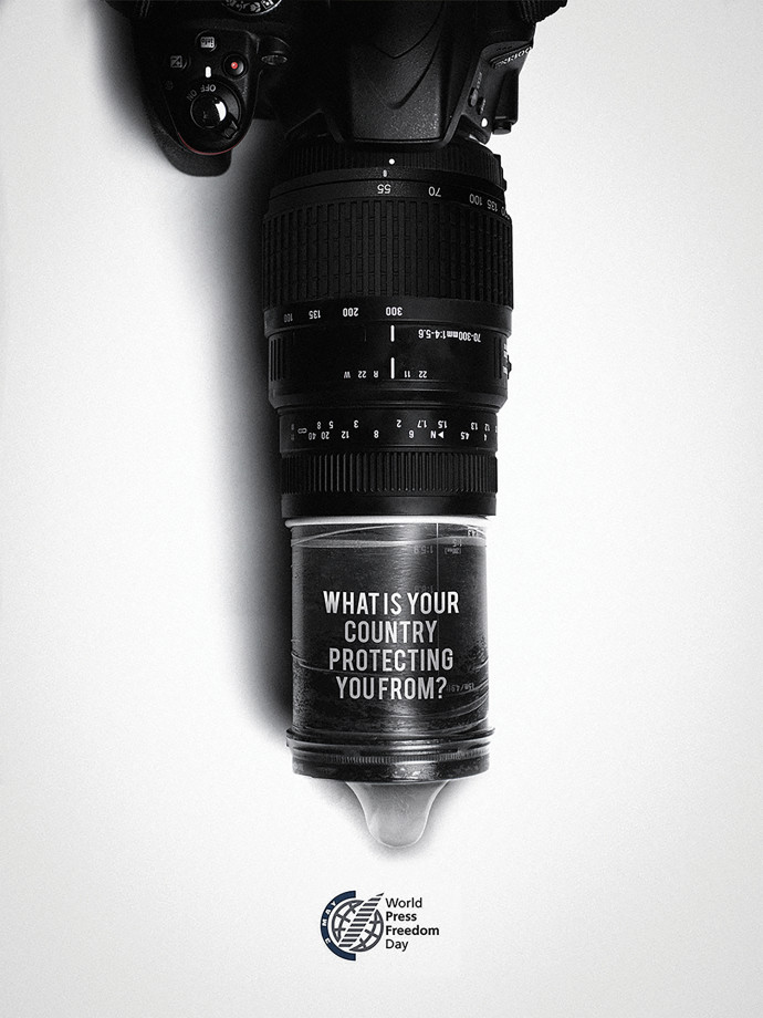 World press freedom day: Camera