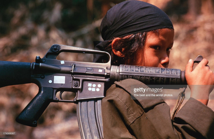 Getty Images: Soldier
