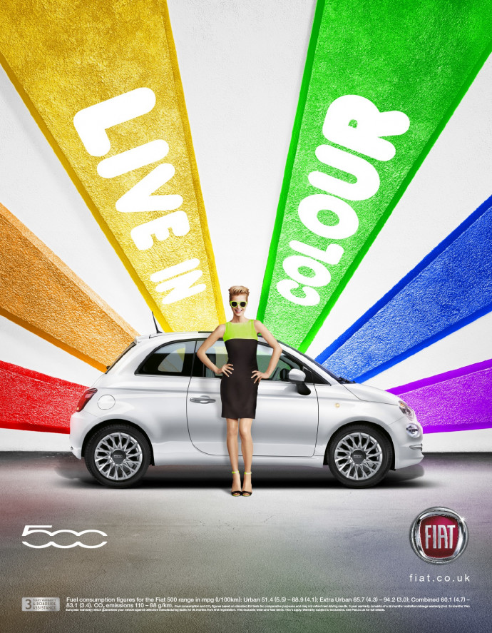 Fiat UK: Live in Colour