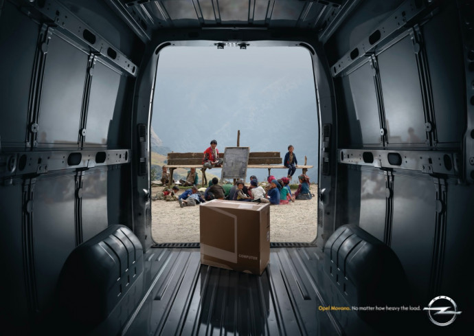 Opel Movano: Education