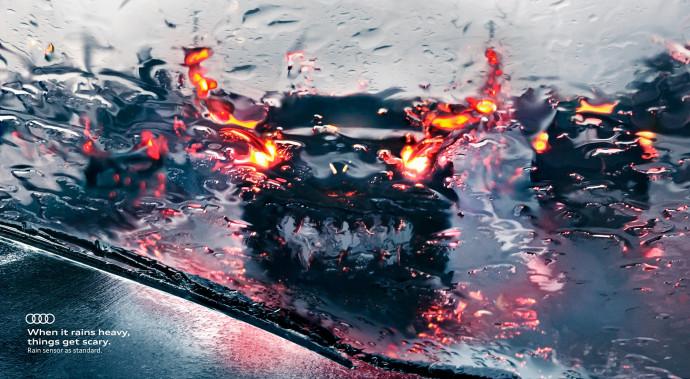Audi: Rain-Monsters, 2