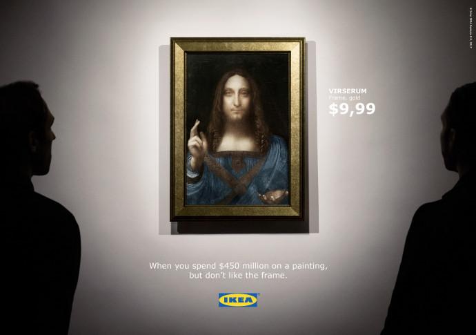 IKEA: Salvator Mundi