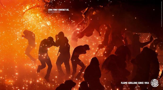 Burger King: Love Fire, 2