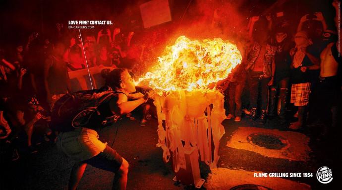 Burger King: Love Fire, 3