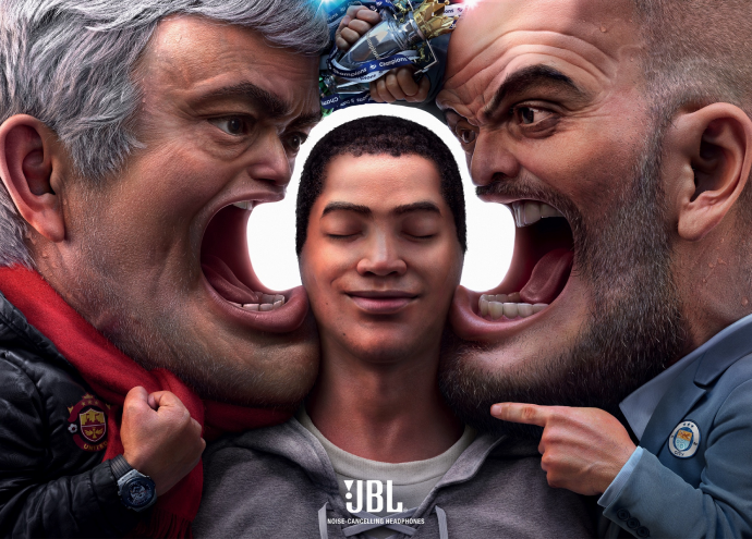 JBL: Block out the Chaos (Football Managers)
