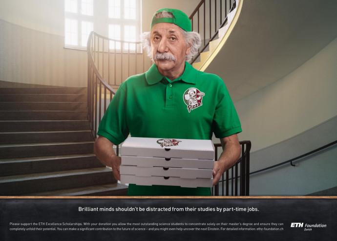 ETH Zurich Foundation: Pizza Delivery Man