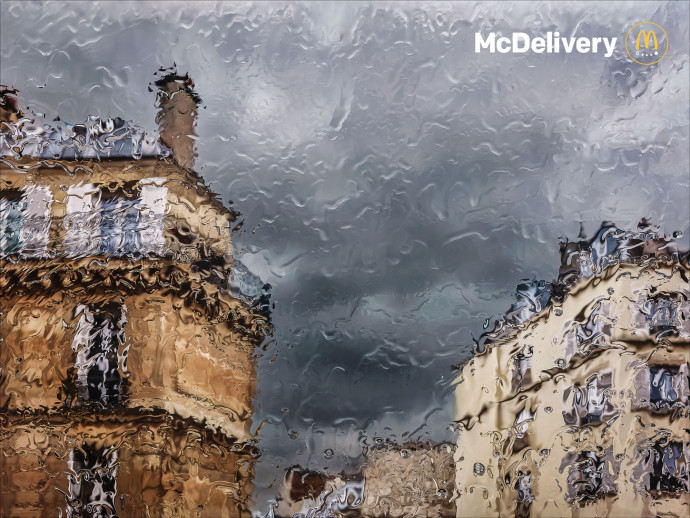 McDonald's McDelivery: Rain, 1