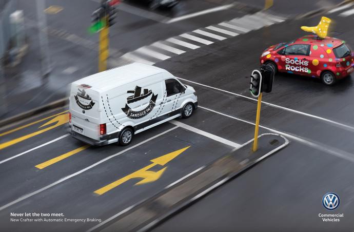 Volkswagen: Never let the two meet, 2