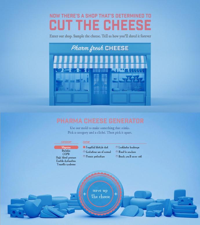Neon: Pharma Cheese Generator