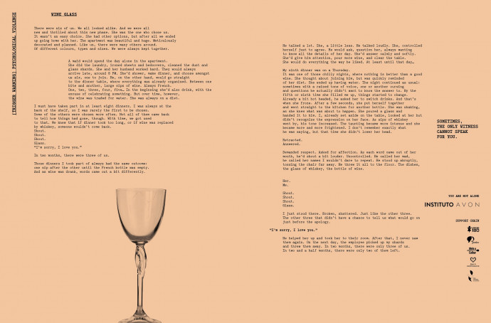 Avon Institute: Wine Glass