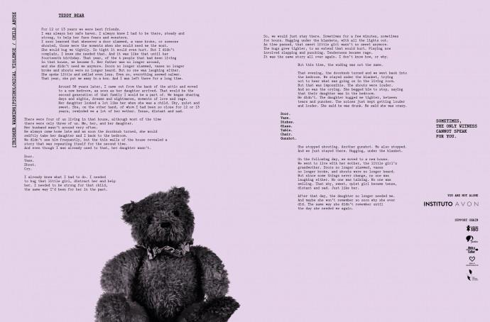 Avon Institute: Teddy Bear