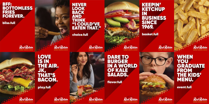 Red Robin: All The Fulls, 2