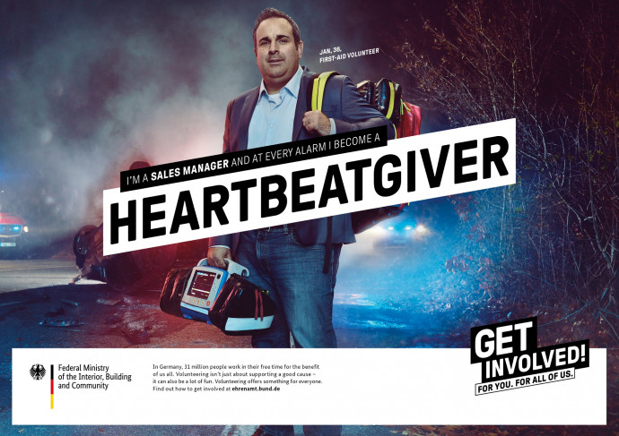 Volunteers Germany: Get involved (Heartbeatgiver)
