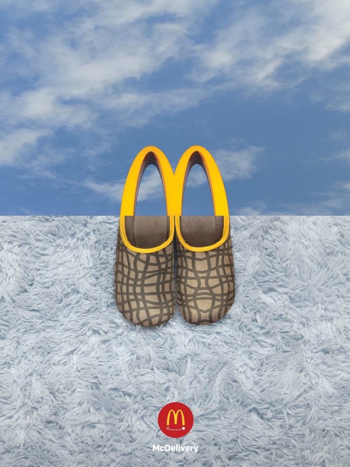 McDonald's: Slippers, 1