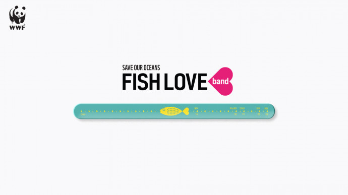 Ad of the Day | WWF: Fish Love Band