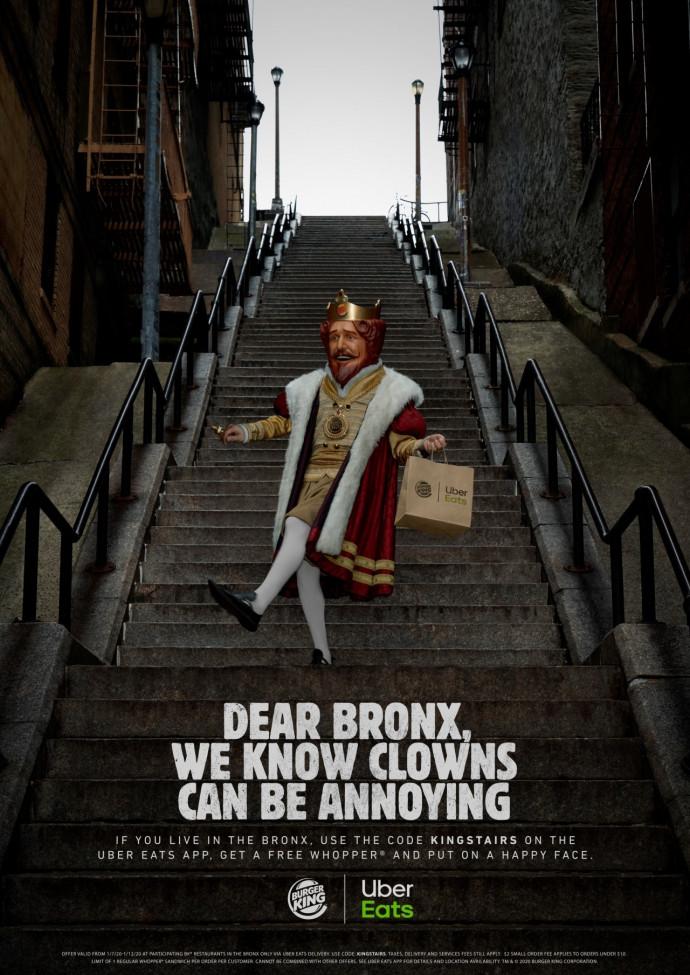 Burger King: King Stairs