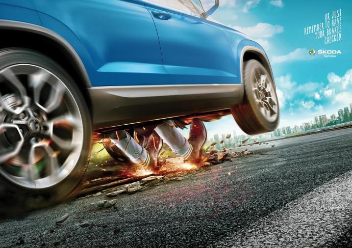 Skoda: Brakes Check