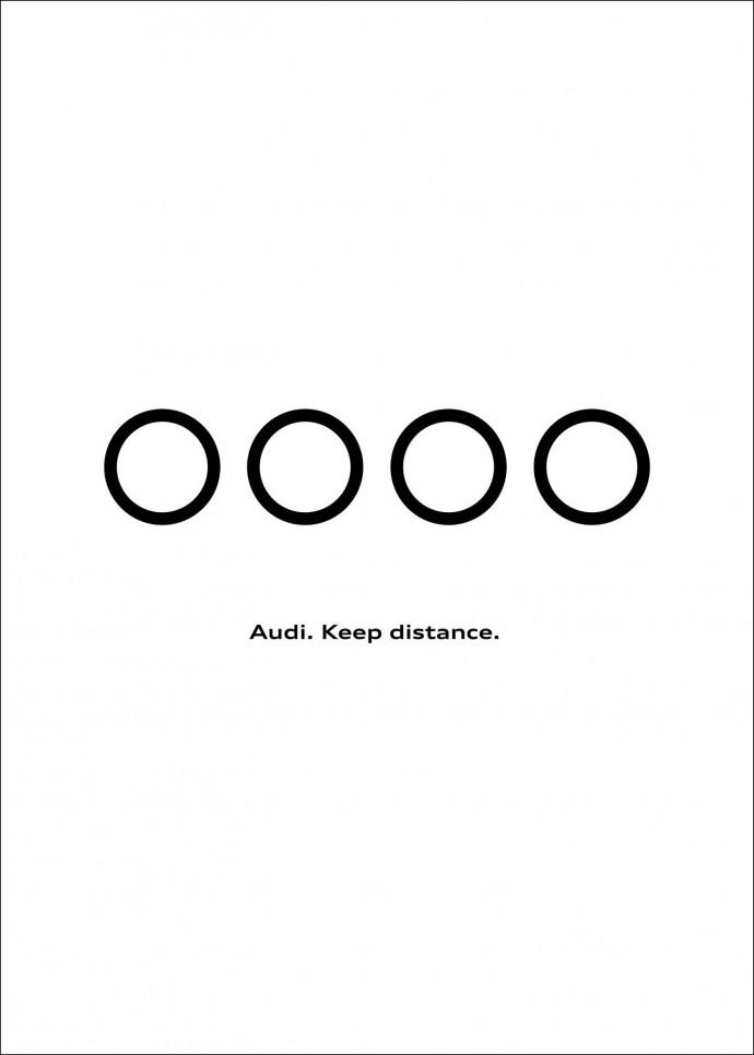 Audi: Keep Distance