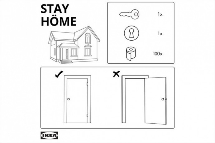 IKEA: #StayHome