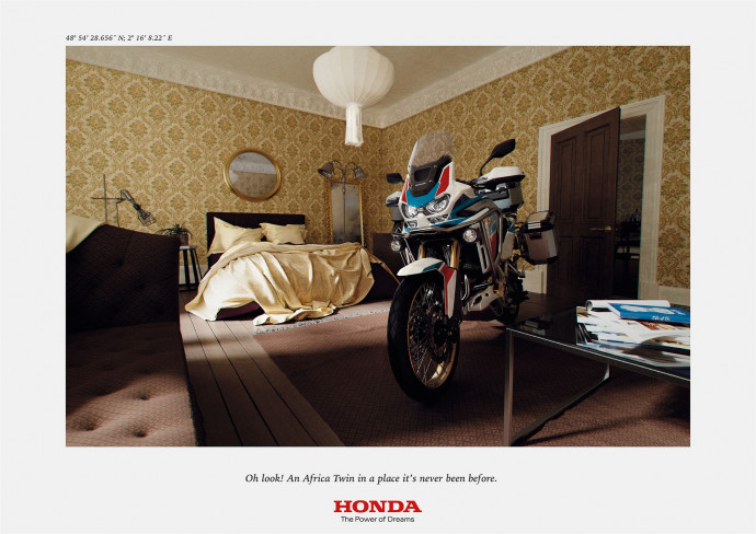 Honda: Bedroom