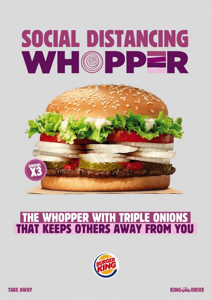 Burger King: Social Distancing Whopper