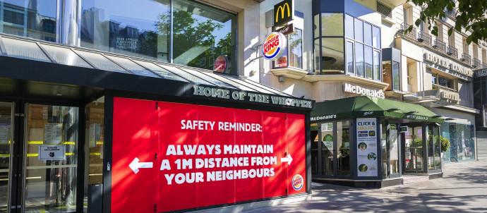 Burger King: Safety Reminder