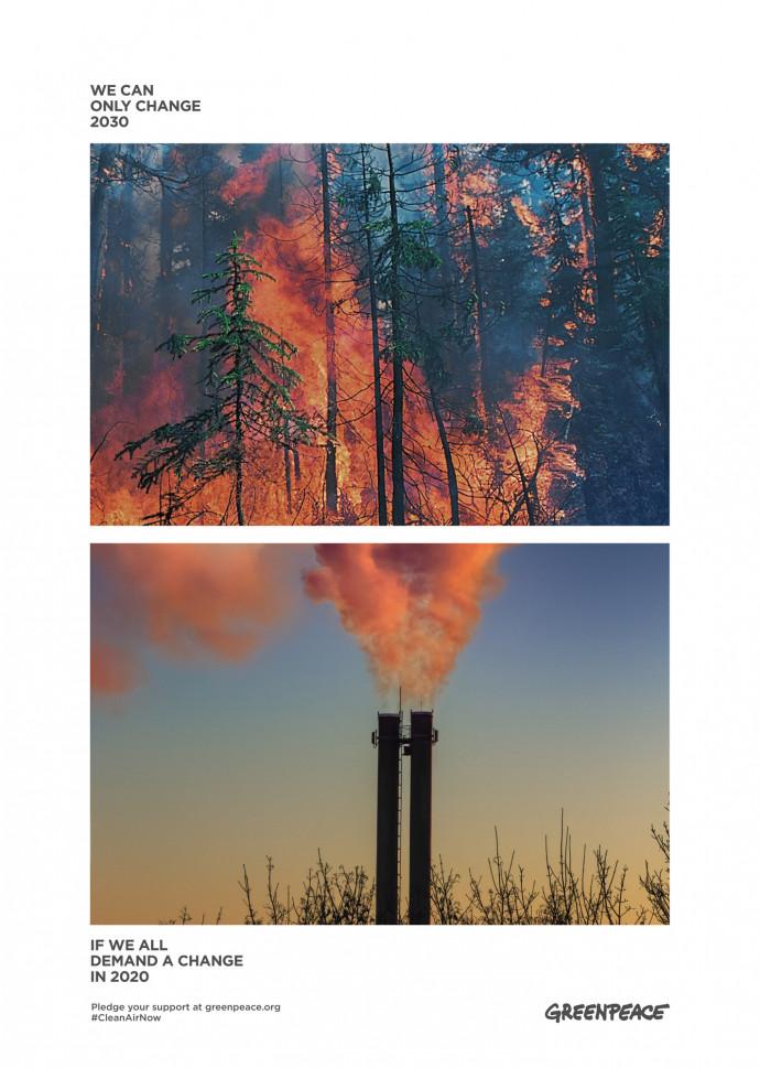 Greenpeace: Clean Air Now, 2