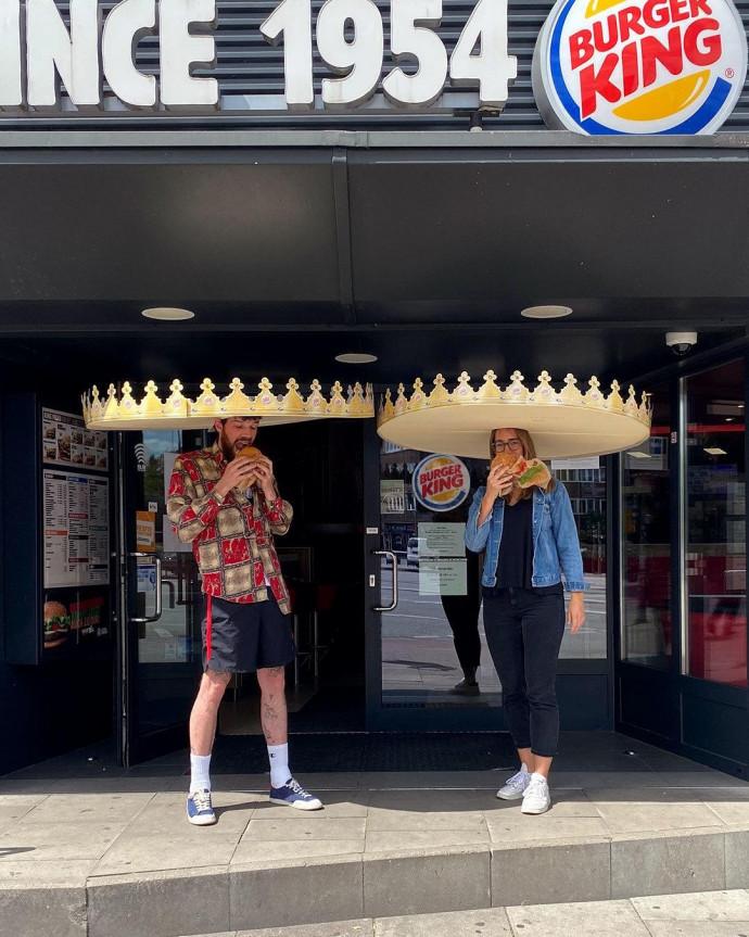 Burger King: Social Distancing Crown