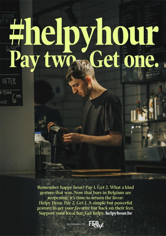 FedCaf: Helpy Hour. Pay 2, Get 1