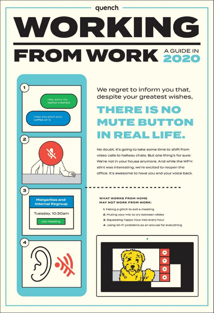 Pavone Marketing Group: Working from Work, Mute