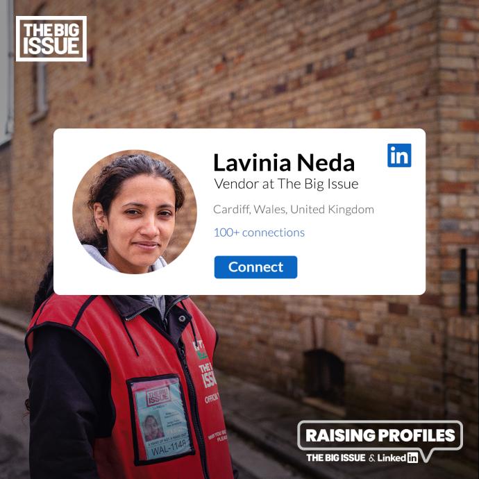 The Big Issue: Raising Profiles (Lavinia)