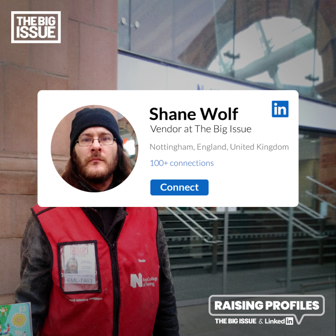 The Big Issue: Raising Profiles (Shane)