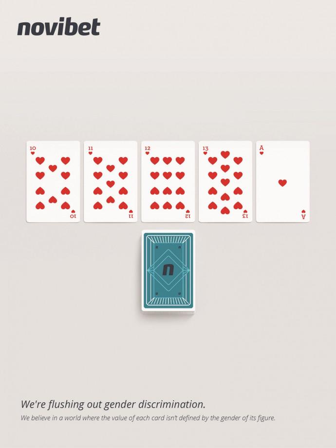 Novibet: Gender Neutral Cards
