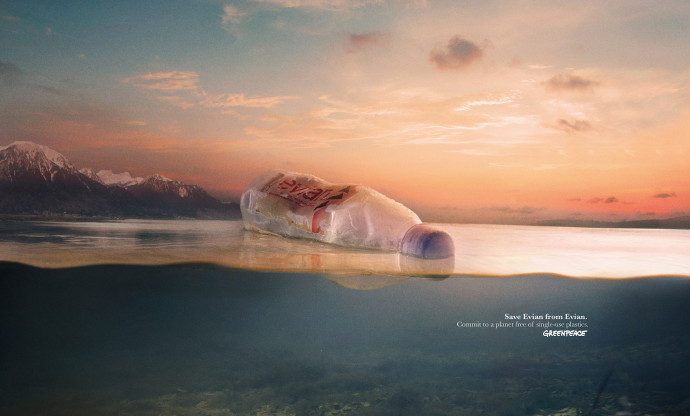 Greenpeace: Save Water From Water, 2