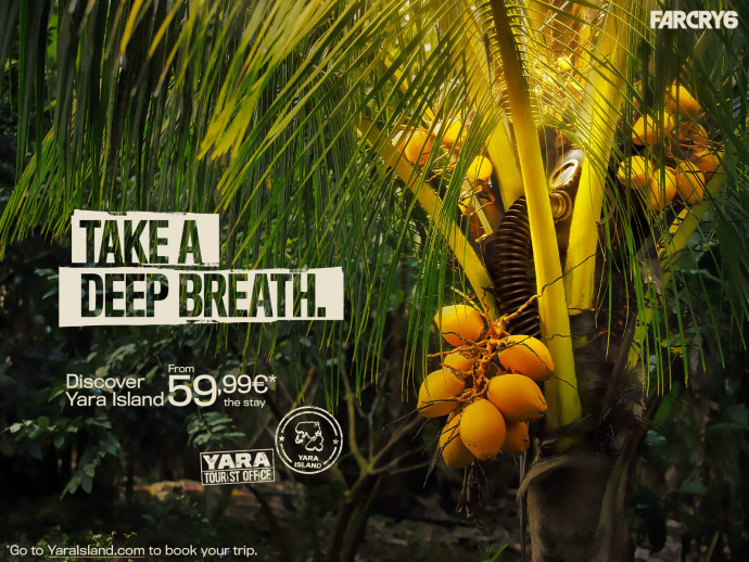 Ubisoft: Discover Yara Island (Breath)