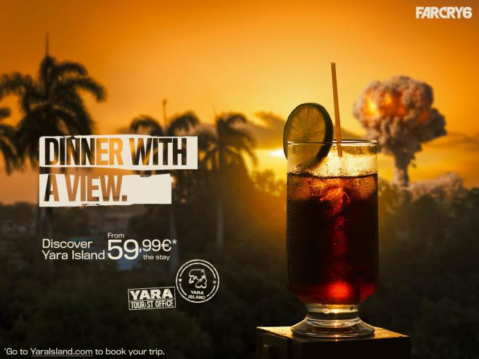 Ubisoft: Discover Yara Island (Dinner)