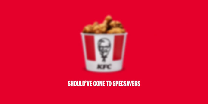 KFC: Should've Gone to Specsavers