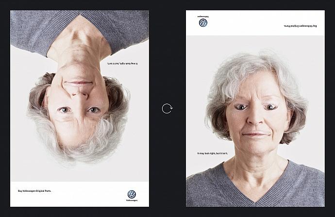 Volkswagen: Wrong faces, 2