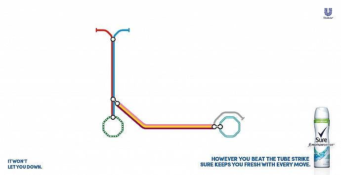 Sure: Tube strike, 2