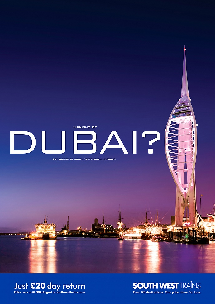South West Trains: Look closer - Dubai