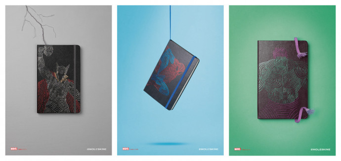 Moleskine: The Avengers Limited Edition Notebooks