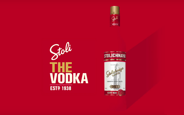 "Stoli Brand Returns to Television with New ""THE Vodka"" Commercial"