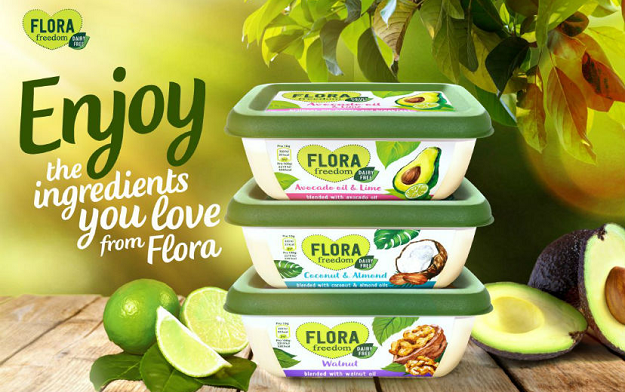 Flora and TMW Unlimited team up with influencers, including the 'Topless Baker', for new dairy-free flavoured Flora spreads campaign