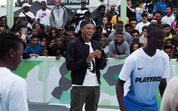 Nike Inaugurates Play Bondy Football Festival With Yard