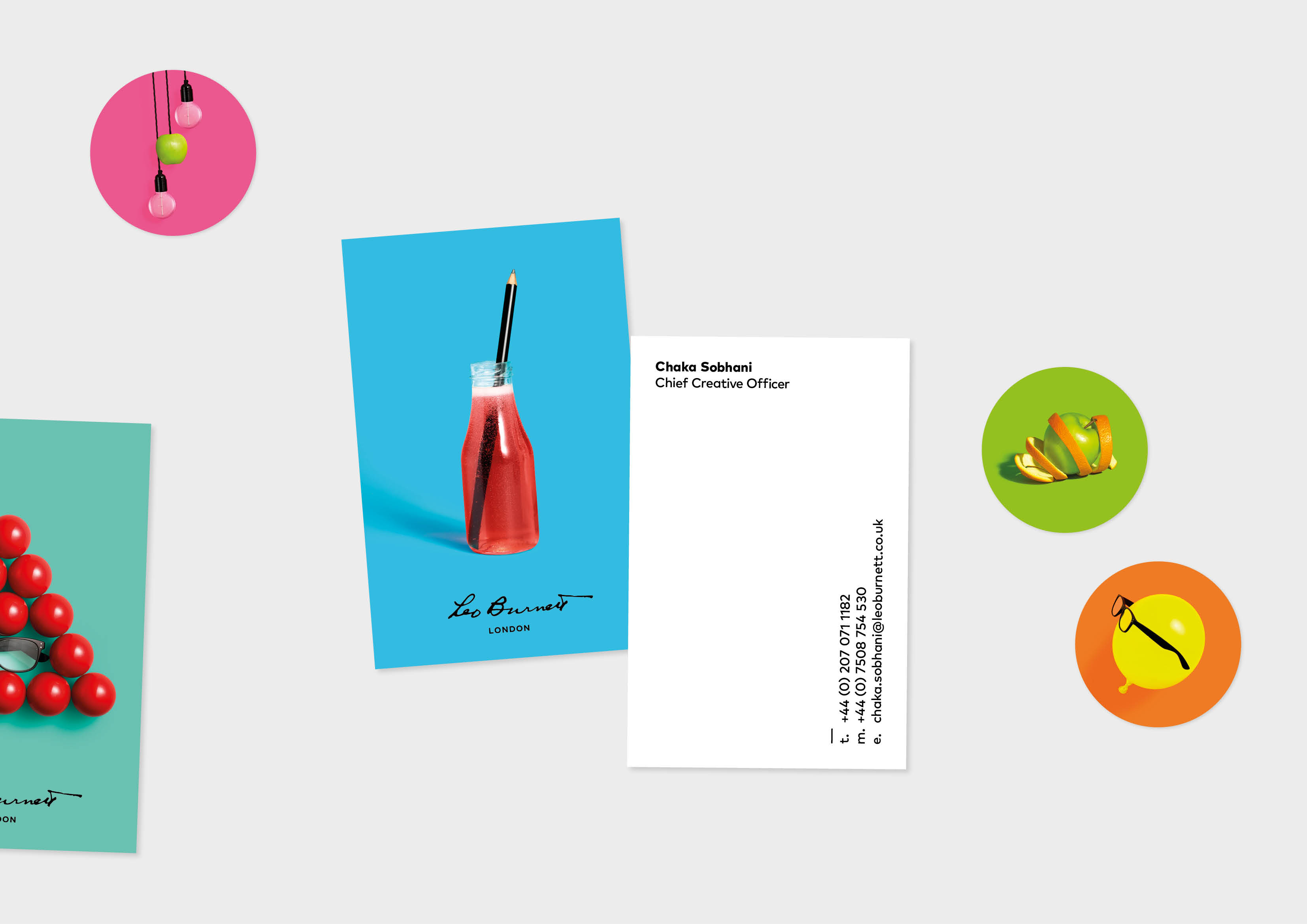 Leo Burnett Updates Its Branding With Colourful Modern Twist