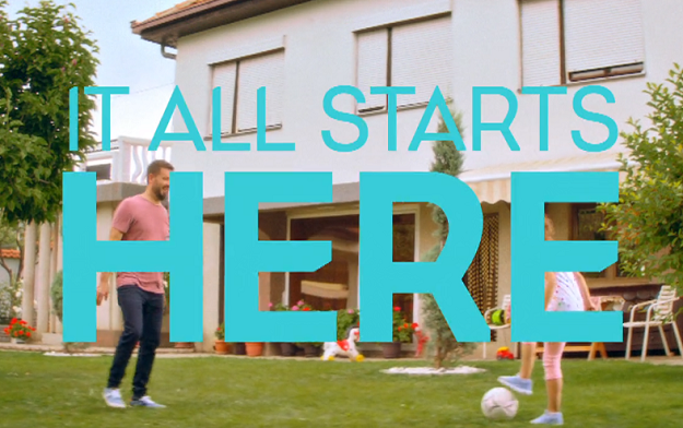 "UEFA and FCB Inferno unveil ""It All Starts Here"" film as part of the Together #WePlayStrong campaign"