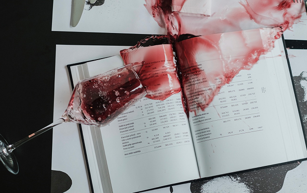 Ad of the Day | Adris Annual Report - A book able to withstand fire and water