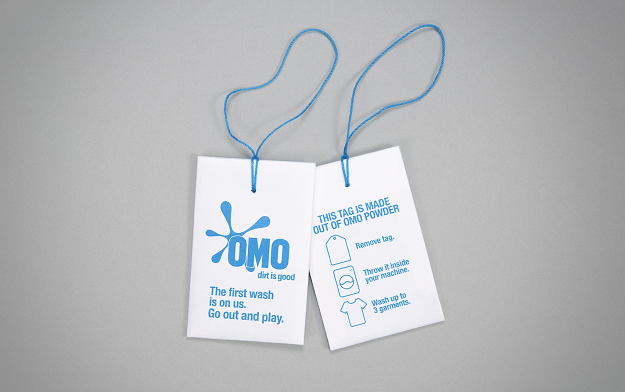 OMO launches a ground-breaking innovation in the world of in-store sampling: the OMO Tag