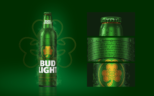 Authentic. Irish. Bud Light?