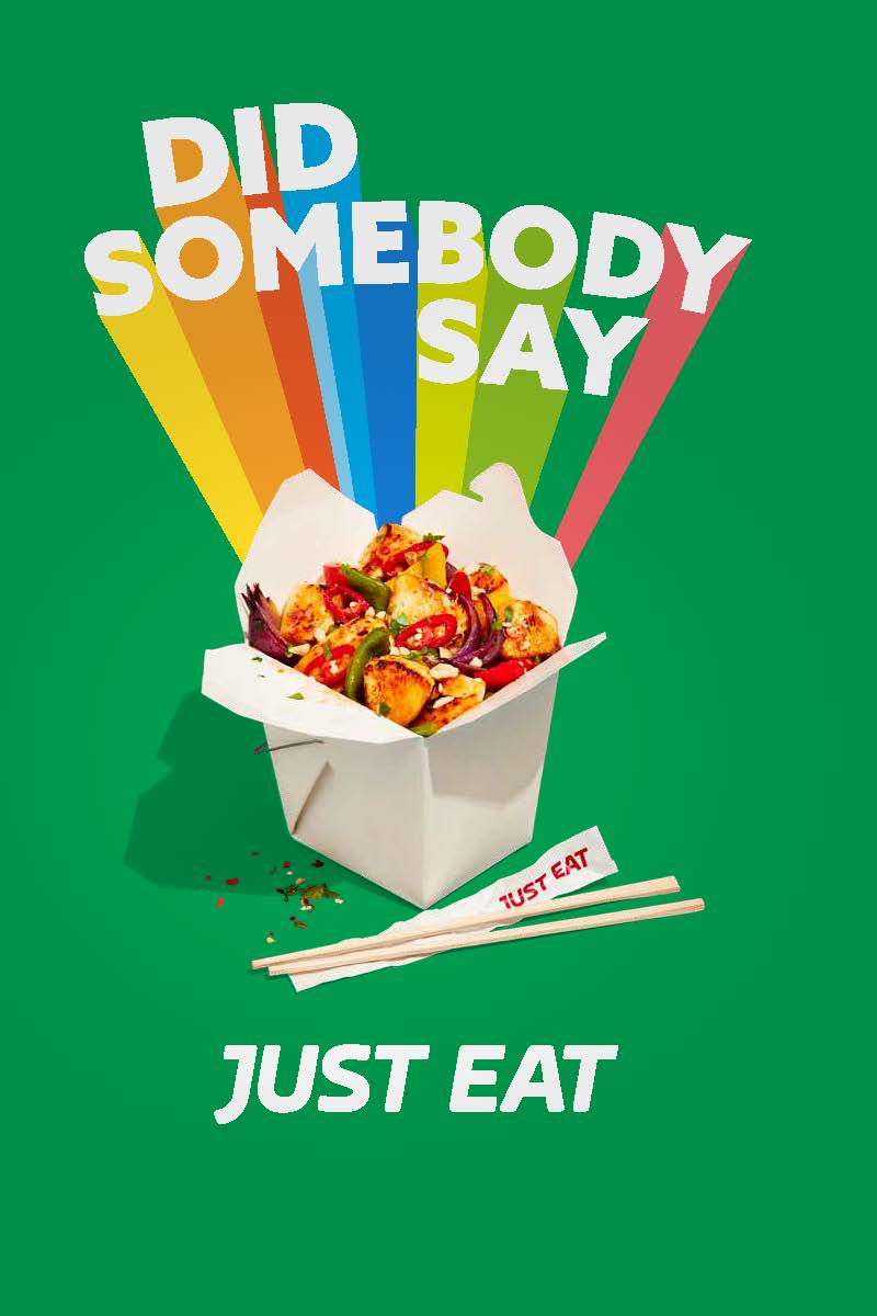 Did Somebody Say Just Eat Captures The Joy That The Brand